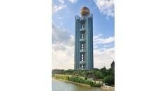 Longxi International Hotel, kaxite технологии, профиль из полиамида для облицовки фасадов, полиамид тепловой пробой