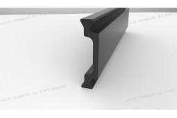 термический барьер полоса, форма C 24мм термический барьер полосы, тепловой барьер, алюминиевый профиль, алюминиевые окна термический барьер