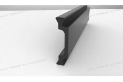 тепловой барьер, бар, Форма C 25мм тепловой барьер, бар, тепловой барьер, алюминиевый профиль, алюминиевые окна термический барьер