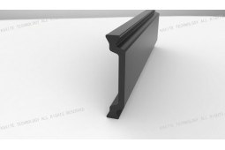 тепловой барьер полоса, форма C 28 мм тепловой барьер полосы, тепловой барьер, алюминиевый профиль, тепло барьера алюминиевые окна