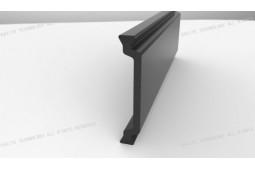 тепловой барьер, продукт, форма C 32 мм термический барьер продукта, тепловой барьер, алюминиевый профиль, термический барьер из алюминия окна