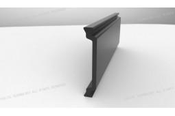 теплоизоляция распорка, форма C 34 мм теплоизоляция распорка, теплоизоляция алюминиевый профиль, теплоизоляция алюминиевого окна