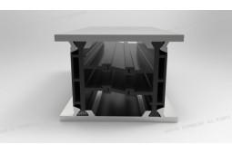полиамид 6 . 6 25% стекловолокна, тепловой барьер профиль