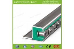 пластиковая направляющая цепи, направляющие цепи для роликовых цепей, направляющие роликов, направляющая цепочки нейлоновых профилей, направляющая направляющих роликов ролика PA66<br>