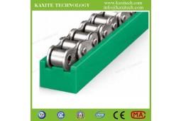 направляющая дорожки направляющей ролика, направляющая цепи для автоматической производственной линии, направляющая цепи ТИП TS, направляющая дорожки ролика PA66, направляющая цепи PA66,