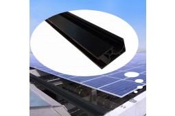 Монтажная рейка панели солнечных батарей, монтажная рейка панели, кронштейны для монтажа панели, алюминиевая рейка